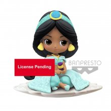 Disney Q Posket mini figurka Jasmine B Milky Color Version 9 cm