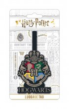 Harry Potter Rubber Luggage Tag Bradavice Crest