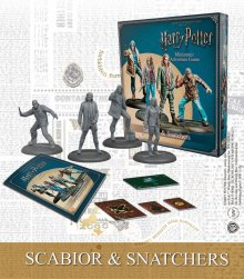 Harry Potter Miniature 35 mm 4-Pack Scabior & Snatchers *English