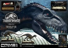 Jurassic World: Fallen Kingdom Socha 1/6 Indoraptor & Indorapto