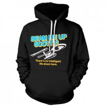Star Trek hoodie mikina Beam Me Up Scotty