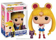 Sailor Moon POP! Animation Vinylová Figurka Sailor Moon & Luna 9