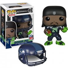 NFL POP! figurka Marshawn Lynch (Seattle Seahawks) 9 cm