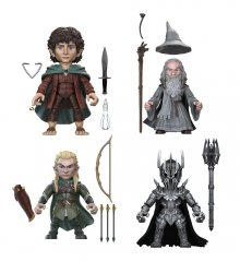 Lord of the Rings Action Vinyls mini figurky 8 cm Display Wave 1