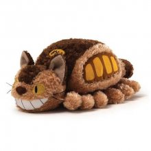 Studio Ghibli Plyšák Little Fluffy Cat Bus 20 cm