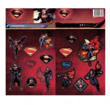 DC Comics Vinyl Sticker Pack Man Of Steel (10)