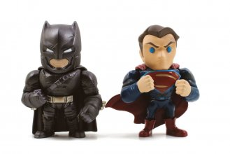 Batman v Superman Metals Die Cast Figures Batman & Superman 10 c
