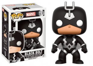Marvel Comics POP! Marvel Vinyl Bobble-Head Black Bolt 9 cm