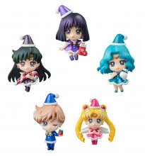 Sailor Moon Petit Chara Trading Figure 5-Pack Sailor Moon Christ