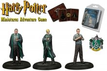 Harry Potter Miniatures 35 mm 3-pack Zmijozel Students *English
