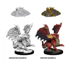 D&D Nolzur's Marvelous Miniatures Unpainted Miniatures Red Drago