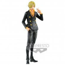 One Piece Grandista Resolution of Soldiers Figure Sanji 27 cm