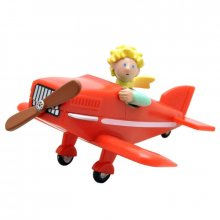 The Little Prince Figure Malý Princ in his plane 7 cm