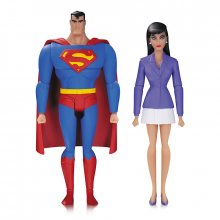 Superman The Animated Series figurky Superman & Lois Lane 15 cm