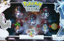 Pokemon Diamond and Pearl PVC přívěsky na klíče 5-pack