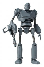 The Iron Giant Diecast Akční figurka Battle Mode Version Preview
