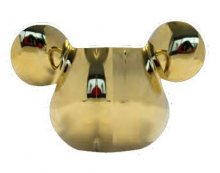 Mickey Mouse Deluxe 3D Eggcup Gold