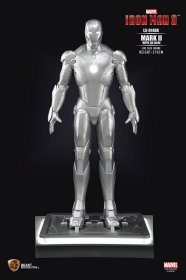 Iron Man 3 Life-Size Socha Iron Man Mark II DX Base 210 cm