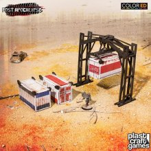Post Apocalypse ColorED Miniature Gaming Model Kit 28 mm Crane &
