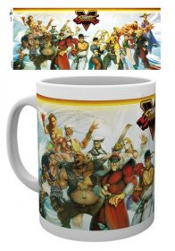 Street Fighter V Mug Characters