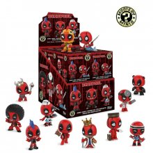 Marvel Comics Mystery mini figurky 5 cm Display Deadpool (12)