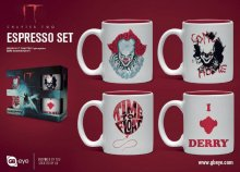 It Chapter Two hrnky na espresso 4-Pack Pennywise
