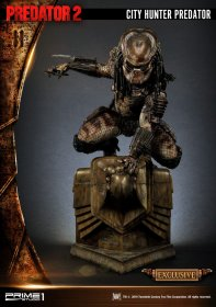 Predator 2 3D Wall Arts City Hunter Predator & City Hunter Preda