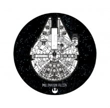 Star Wars Carpet Millennium Falcon 80 cm