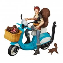 Marvel Legends Series Akční figurka with Vehicle Squirrel Girl 1