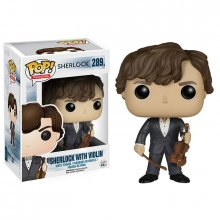 Sherlock Funko POP! figurka Sherlock with Violin 9 cm