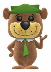 Hanna-Barbera POP! Animation Vinyl Figure Yogi Bear (Flocked) 9