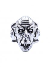 Nosferatu Ring Vampire (Sterling Silver) Size 12