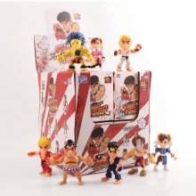 Street Fighter Action Vinyl mini figurky 8 cm WM Display (12)
