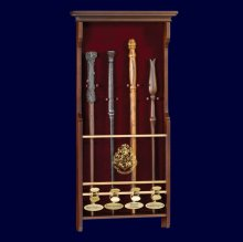 Harry Potter Four Character Wand Display