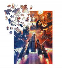 Mass Effect skládací puzzle Outcasts (1000 pieces)