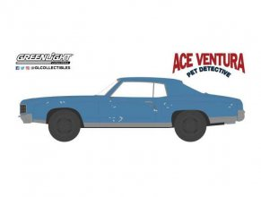 Ace Ventura: Pet Detective kovový model 1/64 1972 Chevrolet Mon