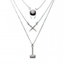 Avengers Stainless Steel Necklaces with Pendants Thor