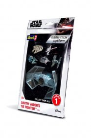 Star Wars Level 2 Easy-Click Snap Model Kit Series 1 Darth Vader