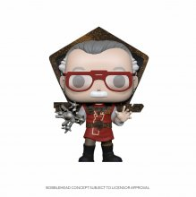 Stan Lee POP! Icons Vinylová Figurka Stan Lee in Ragnarok Outfit