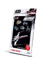 Star Wars Level 2 Easy-Click Snap Model Kit Series 1 X-Wing Figh