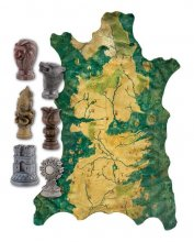 Game of Thrones Replica 1/1 Robb Stark´s Map of Westeros with Ma