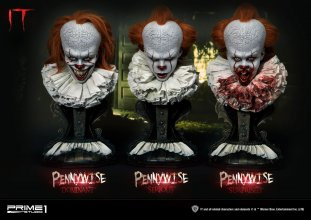 Stephen Kings It 2017 Busts 3-Pack 1/2 Pennywise Serious, Domina
