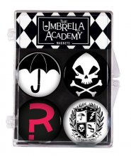 The Umbrella Academy magnety 4-Pack