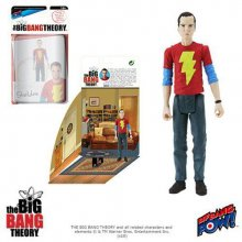 The Big Bang Theory Akční Figurky with Diorama Set Sheldon Shaz