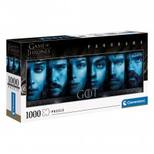Game of Thrones Panorama skládací puzzle Faces (1000 pieces)