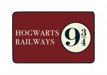 Harry Potter Carpet Bradavice Railways 9 3/4 80 x 50 cm