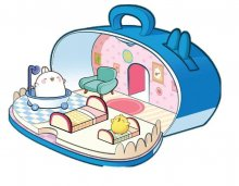 Molang 3in1 Playset Home