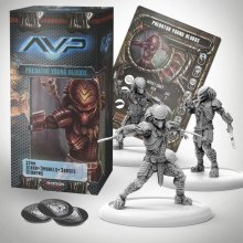AvP Tabletop Game The Hunt Begins Expansion Pack Predator Young