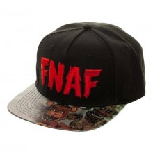 Five Nights at Freddy's Snap Back Cap FNAF Vinyl Bill