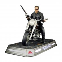 Terminator 2: Judgment Day Socha 1/4 T-800 on Motorcycle Signat